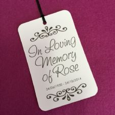 Swash Personalised Swing Tag